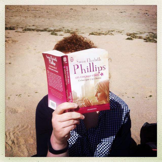 On amène de la bonne lecture sur la plage (of course!)
